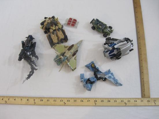 Lot of Assorted Transformers Toys & Figures, 1 lb