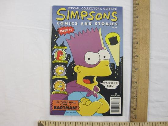 Special Collector's Edition! Simpsons Comics and Stories Issue #1 Annual 1993, 2 oz