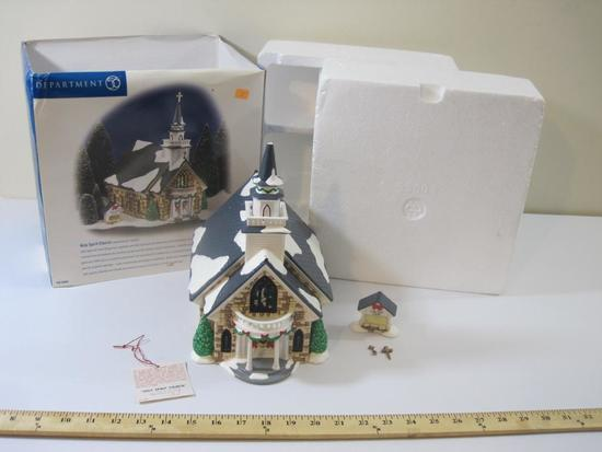 Department 56 Original Snow Village, Holy Spirit Church see pictures for details, 3lb8oz