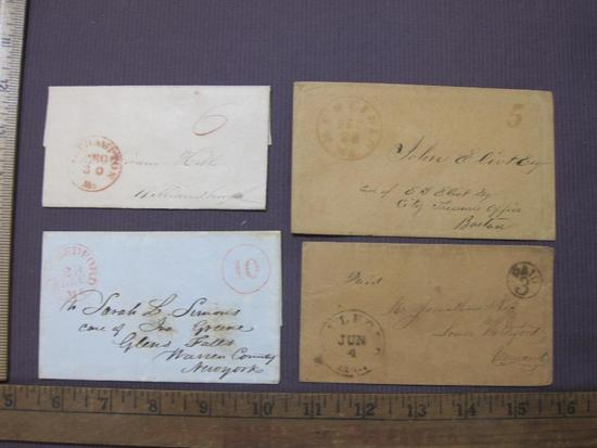 Massachusetts vintage correspondence from the 1840s