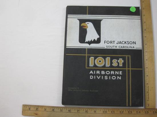 Fort Jackson South Carolina 101st Airborne Division Company G 501st Airborne Infantry Regiment