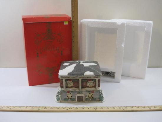 The Lionelville Collection Ceramic 1903 Library, in original box, 5 lbs