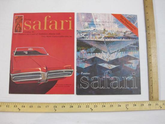 1966 Pontiac Safari Magazine, Featuring Atlanta Oct-Dec issue and 1967 Pontiac Safari at Canada