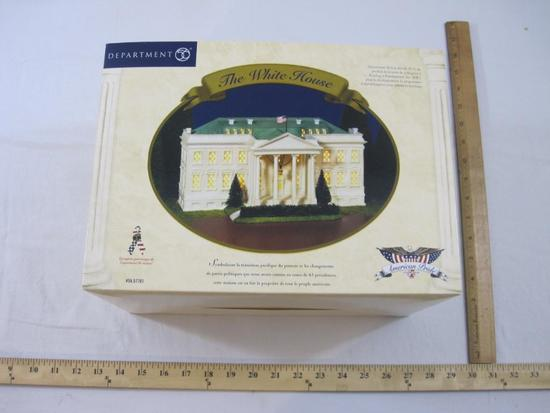 Department 56 The White House, American Pride Collection, in original box, 4 lbs 14 oz