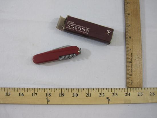 Victorinox Original Swiss Army Knife in original box, 3 oz
