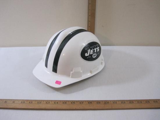 "NY Jets Hard/Safety Hat, Willson Headsize 6.5-8"", 14 oz"