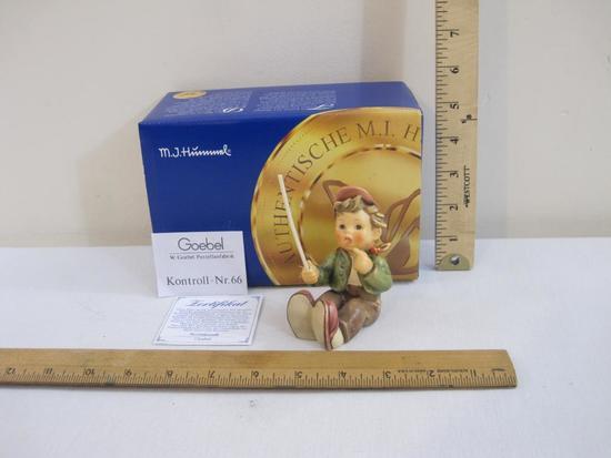 European Wanderer Ceramic Hummel Figure #2060, in original box, 8 oz