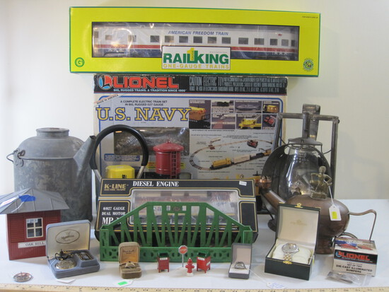 Trains, Jewelry, Collectibles & More