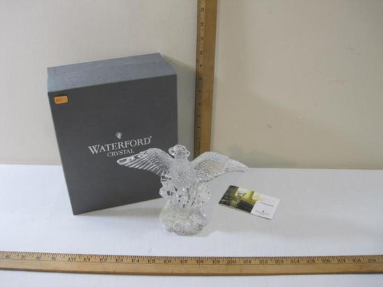 Waterford Crystal Eagle Statue in original box, 3 lbs 5 oz