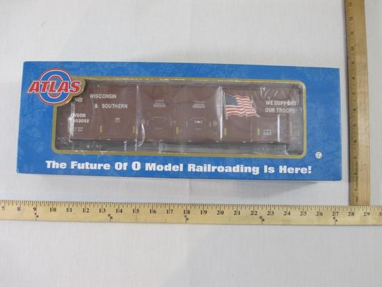 53' Evans Box Car W&S (Wisconsin & Southern) We Support Our Troops #503052 (3 Rail), Item #3001302A,