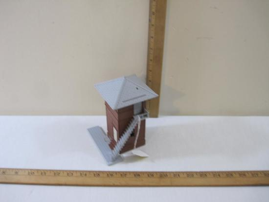 Watch Tower Plastic Model for Train Displays, 3 oz