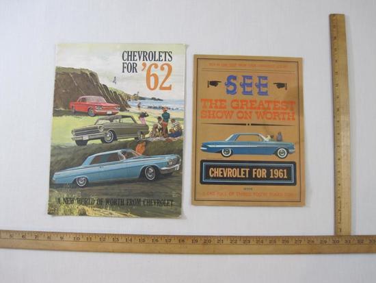 Two 1960s Chevrolet Catalogs, 4 oz