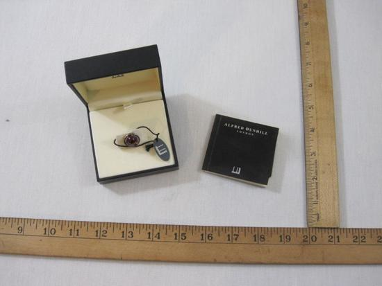 Alfred Dunhill Millennium Lapel Pin in original box, 4 oz
