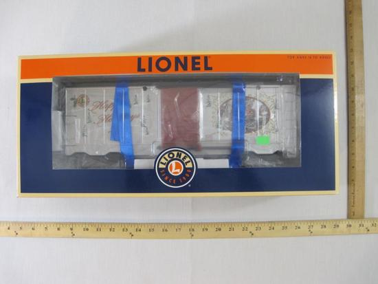 Lionel 2009 Large Scale Holiday Boxcar 8-87031, Lionel Large Scale Rolling Stock, new in box, 3 lbs