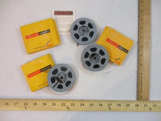 Three Vintage Films of Trains, 1960s, 5 oz