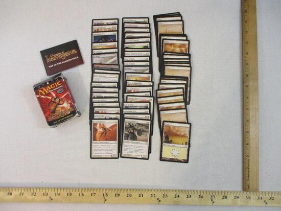 Lot of Assorted MTG Magic the Gathering Cards, mostly commons and uncommons including Foil Swamp,