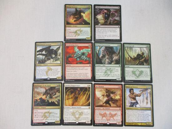 Over 500 Magic: the Gathering Cards, may contain cards from 1993-present including commons,