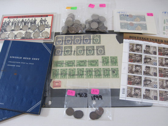 July Stamps, Coins and Ephemera