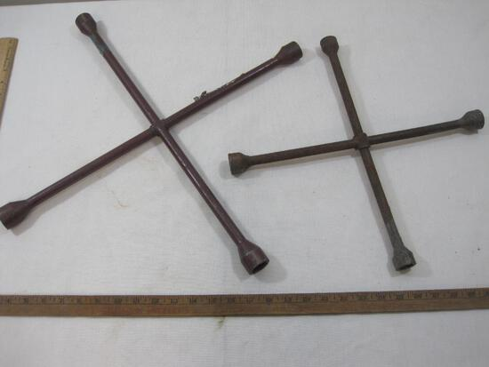 Two Metal Tire Irons