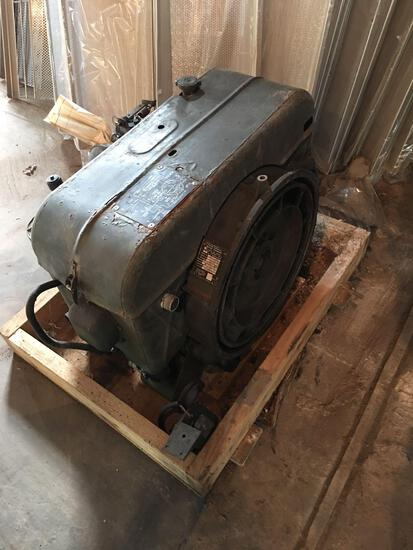 Military Standard Engine 2 Cylinder Air Cooled with shipping crate