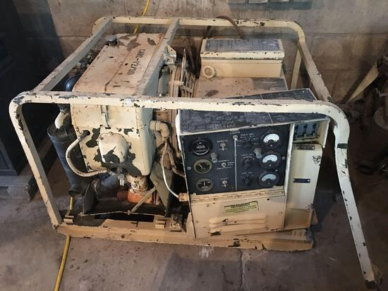 US Military Design Generator Set Gasoline Engine
