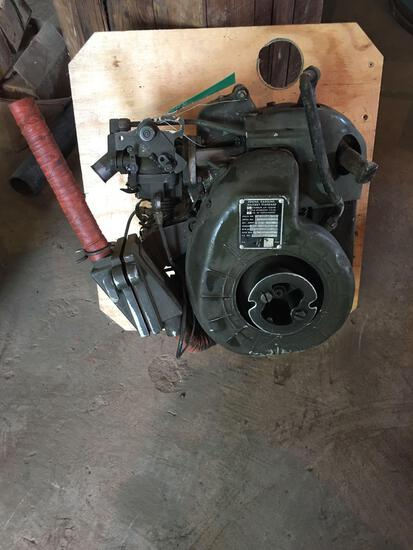 Military Standard 1 Cylinder Air Cooled Outboard Motor/Engine