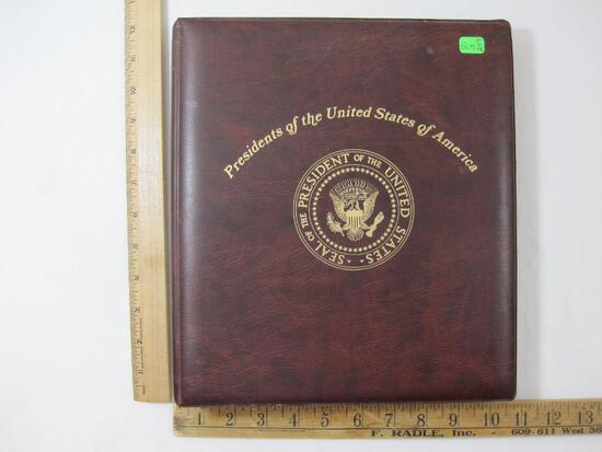 """Presidents of the United States of America Colorano """"Silk"""" Cachet First Day of Issue Covers, 1986 in"""