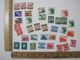 Assorted German Postage Stamps 1934-1944 and more, see pictures for details
