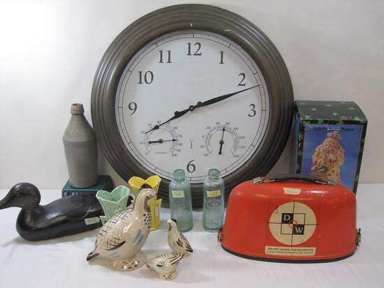 Dec 2 Stoneware, Tools, X-mas, etc -PickUp Auction