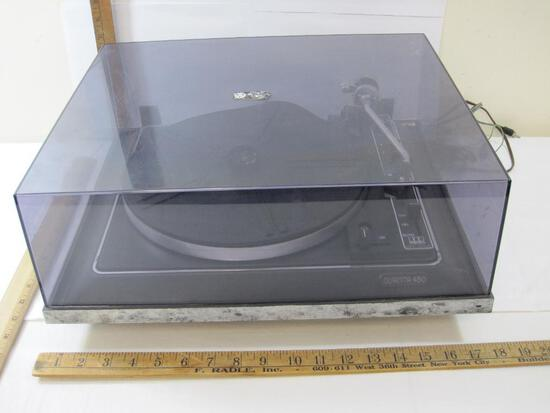 Quanta 450 Turn Table, Table Spins AS-IS condition