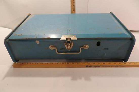 Sears Blue Camp Stove Model 47676302, 2 Burner