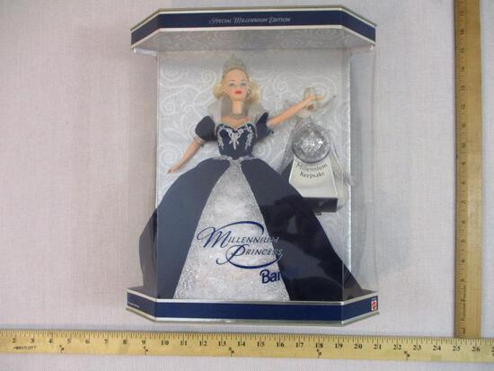 Millennium Princess Barbie, NRFB, 1999 Mattel, 1 lb 10 oz
