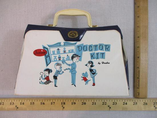 Vintage Junior Doctor Kit by Hasbro, Hassenfeld Bros Inc, 8 oz