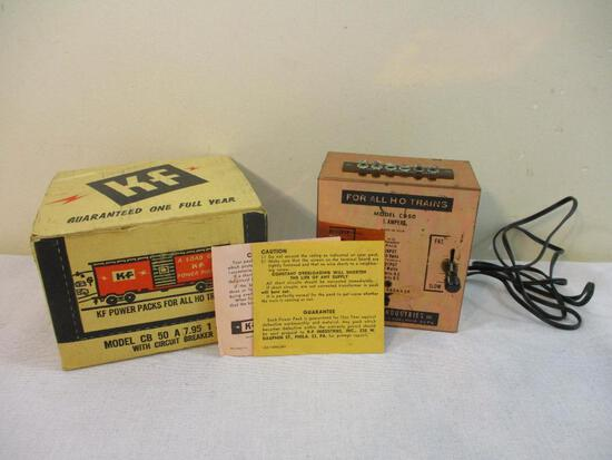 Model CB 50 A 7.95 1 AMP Power Pack with Circuit Breaker for HO Trains, in original box, 2 lbs 7 oz