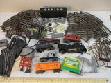 Vintage MARX O Scale Southern Pacific Lines Train Set with track, accessories, and transformer, see