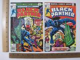 Two Black Panther Comic Books Nos. 3 & 4 May & July 1977, Marvel Comics Group, 4 oz