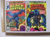 Two Black Panther Comic Books Nos. 7 & 8 Jan & Mar 1978, Marvel Comics Group, 4 oz