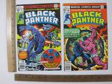 Two Black Panther Comic Books Nos. 9 & 10 May & July 1978, Marvel Comics Group, 4 oz