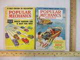 Two 1959 Popular Mechanics Magazines: March and September, 1 lb 10 oz