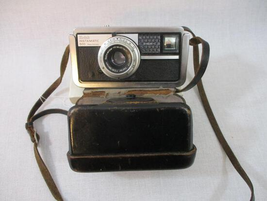 Vintage Instamatic 500 Camera with case, made in Germany, 1 lb 6 oz