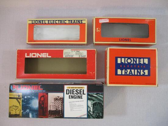 Lot of Assorted Empty Lionel Train Boxes, 1 lb 6 oz