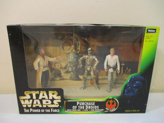 Star Wars The Power of the Force Purchase of the Droids Rebel Alliance Figures, new in box, 1997