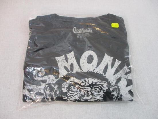 New Gas Monkey Garage T-Shirt, Size Medium, 7 oz