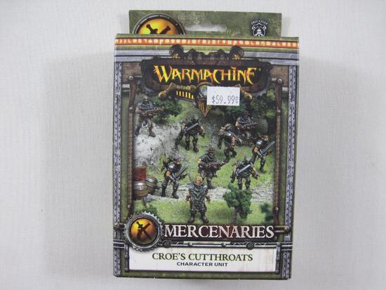 NIB Warmachine Mercenaries Croe's Cutthroats Character Unit, PIP 41123