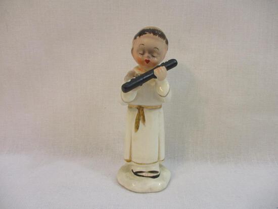 Vintage Chase Handpainted Choir Boy Ceramic Figure, 3 oz
