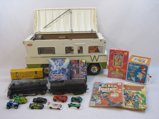 May 10th Trains, Cars, Classic Toys, Comics & more