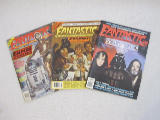 Three Star Wars Fantastic Films Magazines of Imaginative Media: #33 with Dark Crystal The Complete