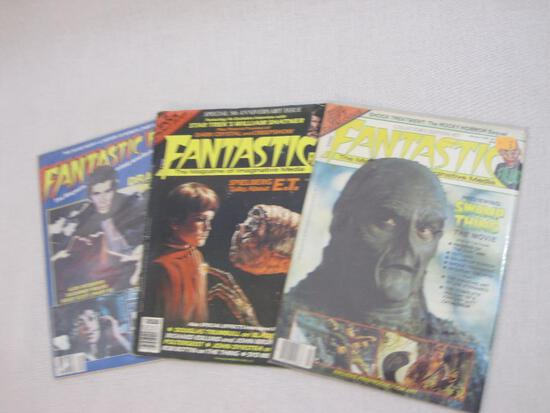 Three Fantastic Films Magazines of Imaginative Media: #27 (Swamp Thing, January 1982), Special 5th
