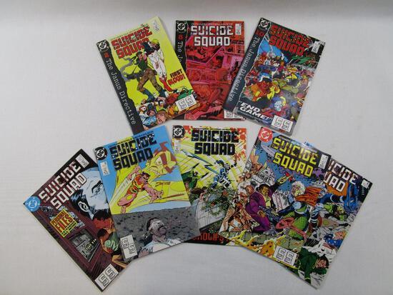 DC Comics Suicide Squad 1989 The Janus Directive 2- No27, 8- No 29, 10- No 30 with Suicide Squad Jul