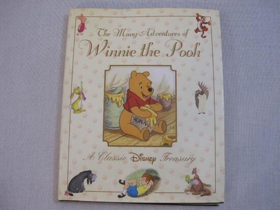 The Many Adventures of Winnie the Pooh A Classic Disney Treasury Hardcover Book, October 2010, 1 lb